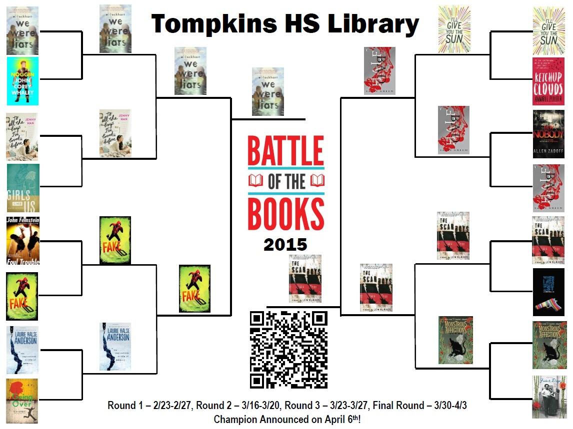 Battle of the Books bracket