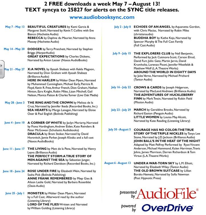 audiobook sync2